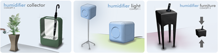 Philips humidifier redesign concept directions