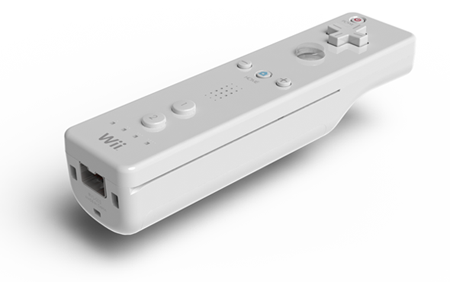 SolidWorks render of a Wii controller
