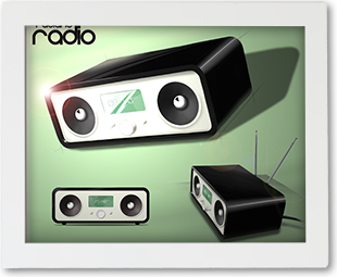 Graphic design - radio sketches