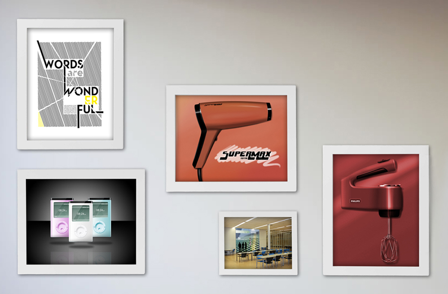 Graphic design gallery overview image