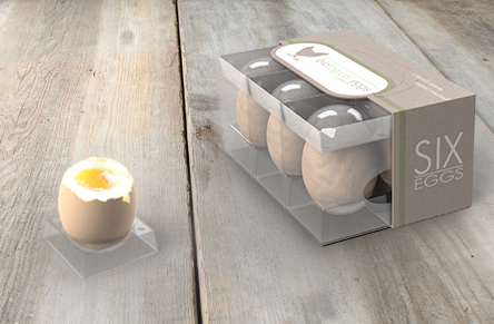 Innovative multifunctional egg packaging design