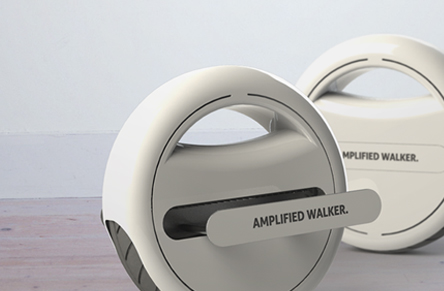 A vision on electric mobility in the year 2030: The Amplified Walker